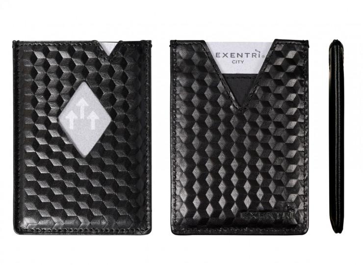 EXC741,EXENTRI,エキセントリ,財布,三つ折りコンパクト財布,ミニマリスト,キャッシュレス