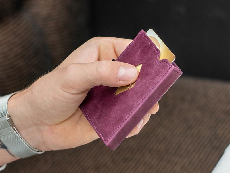 EXENTRI,エキセントリ,財布,三つ折りコンパクト財布,ミニマリスト,キャッシュレス